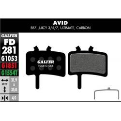 """BICI """"ALLIGAT"""" AVID-JUICE 525160151"""