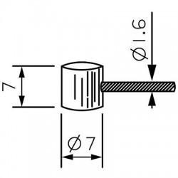 Cables de acero - INOXIDABLES MTB FRENO REF:10.5.19