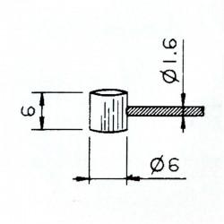 CABLES ACERO PARA MOTO - CAMBIO VESPA, DE 1,9