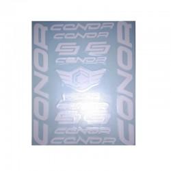 AUTOADHESIVOS - JUEGO BICI CONORS BLANCO REF:88002
