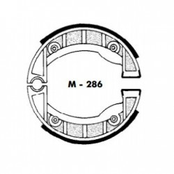 MORDAZAS DE FRENO - VESPINO SC ALX DEL.AGPA REF: M-286C