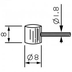 CABLES ACERO PARA MOTO - EMBRAGUE VESPA DE 3 METROS 28.4.03