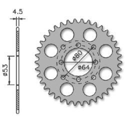 PLATOS MOTO ARRASTRE MAYSE - DERBI ANTORCHA DE 42 D REF 1240